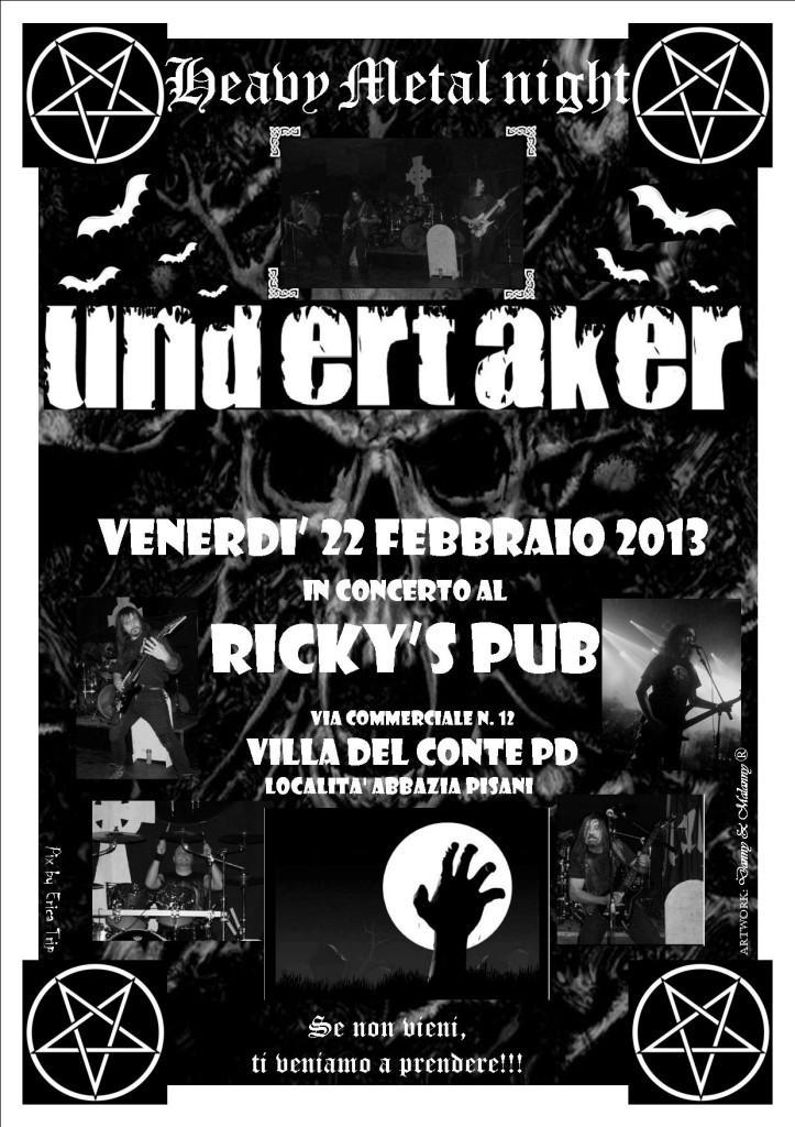 Undertaker rickys 20130221