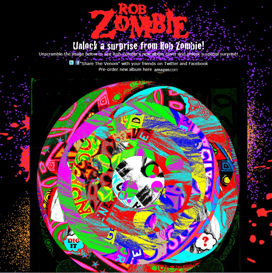 rob zombie website