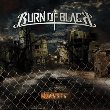Burn of black cover