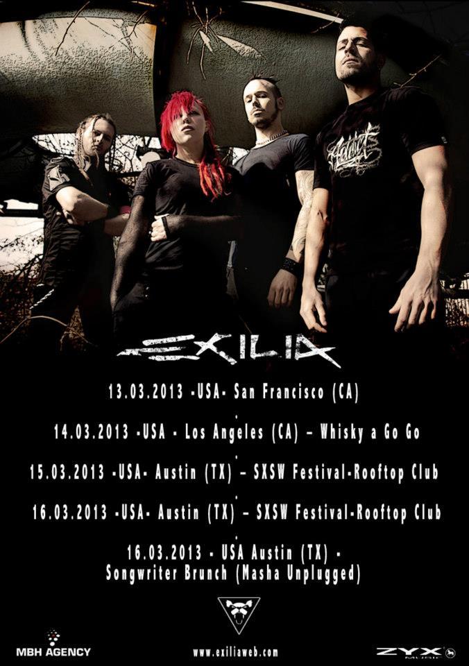 Exilia_US_Tour