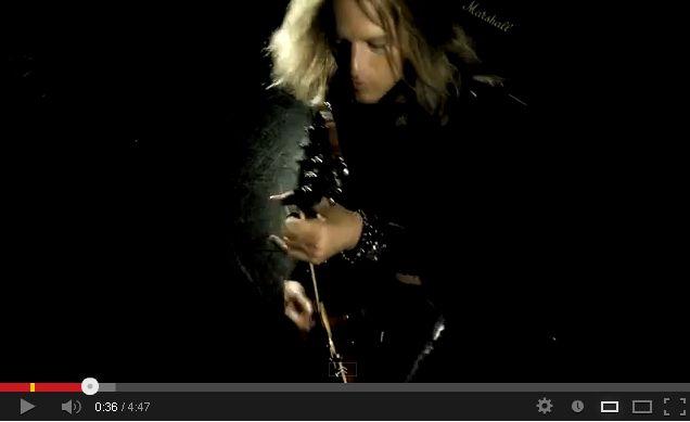 burning rain video
