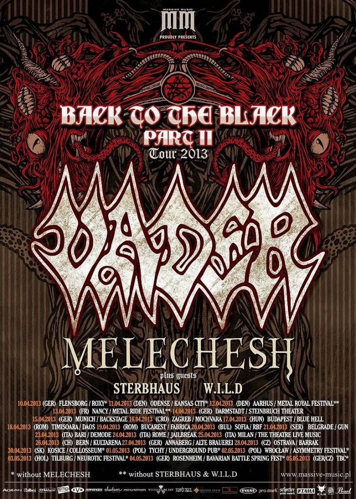 vader + melechesh tour