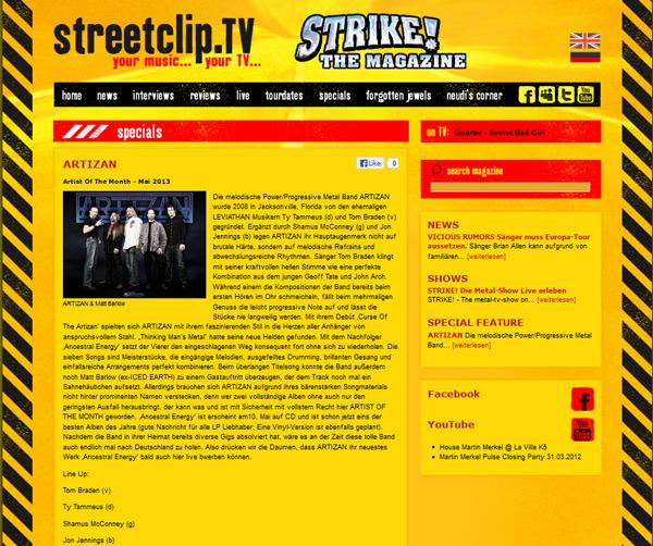 ARTIZAN---streetclip_tv