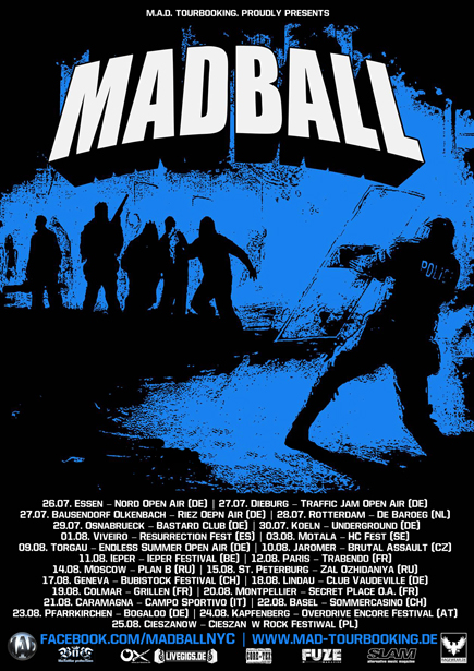 madball summer tour