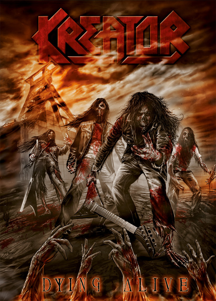 kreator dvd cover