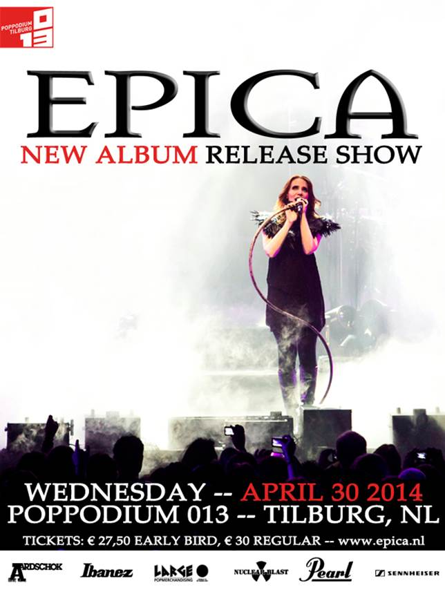 epica release show