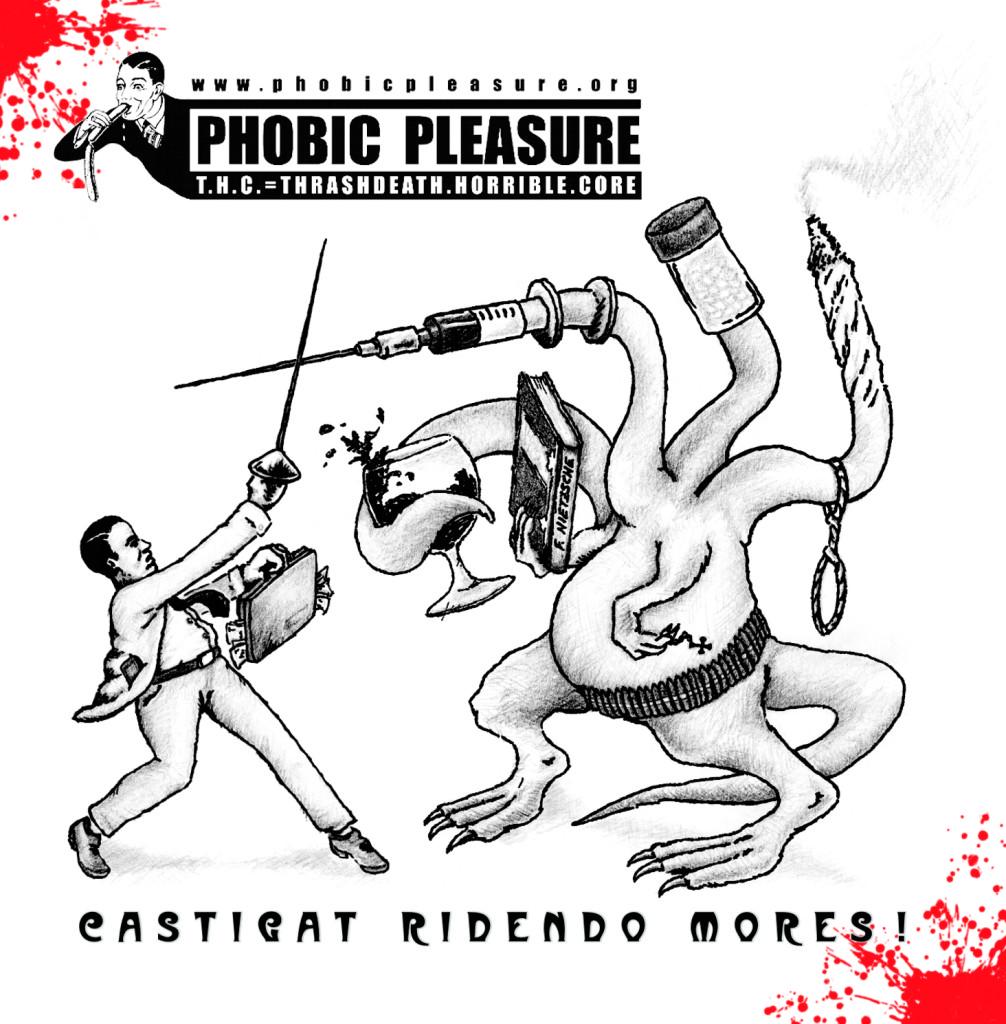 Phobic Pleasure-Castigat ridendo mores!-COVER