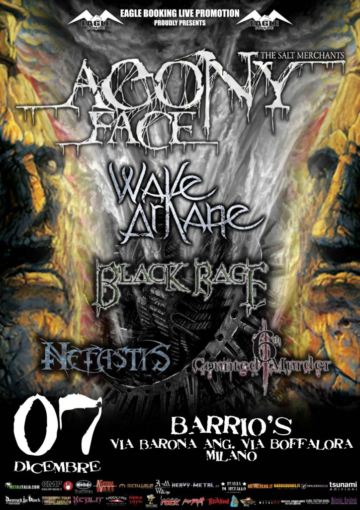 Agony Face Blac Rage release