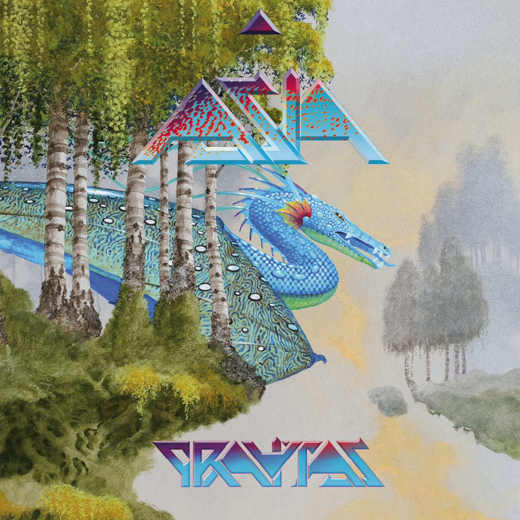 ASIA Gravitas CD cover s