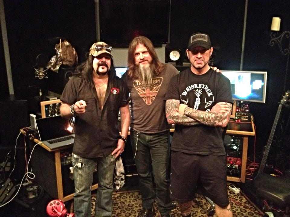 HELLYEAH_in_studio_w__Kevin_Churko