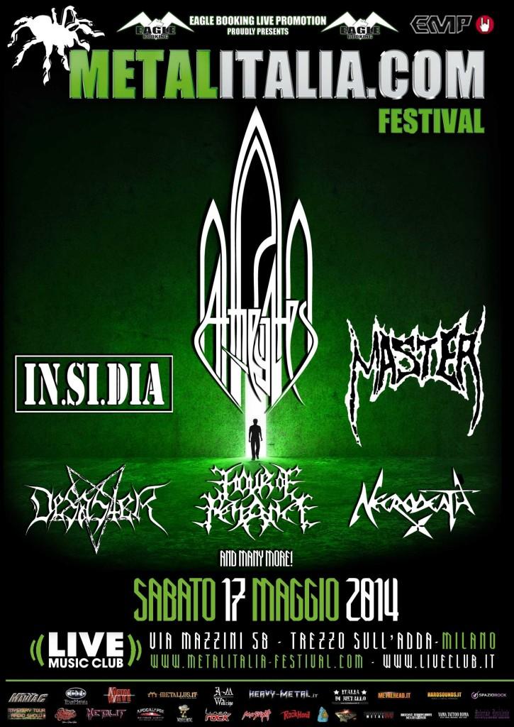 Metalitalia Festival 2014 Locandina Agg